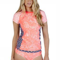Protest Lycra Swell Rashguard Middenrood/Assortiment