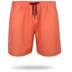 Oceans Swim Shorts Coral mid red