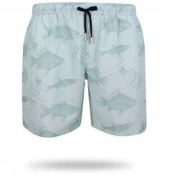 Oceans Swim Shorts Guppy blue