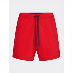 Tommy Hilfiger Zwemshort Sf Medium Drawstring Rood
