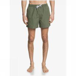 Quiksilver Short De Bain Everyday Volley 15 Kaki Moyen