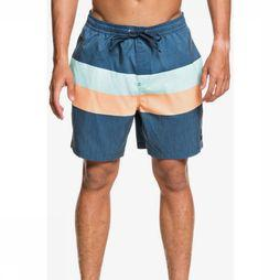 Quiksilver Short De Bain Seasons Volley 17 Bleu