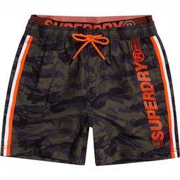 Superdry Short De Bain State Volley Assortiment Camouflage