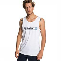 Quiksilver Uv Clothing Art Tickle Tank white