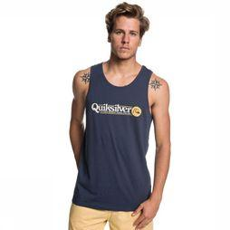 Quiksilver Uv Clothing Art Tickle Tank dark blue