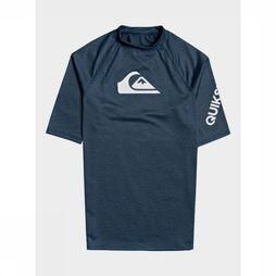 Quiksilver Lycra All Time Ss Blauw