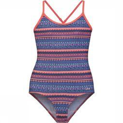 Protest Bathing Suit Koeki blue/mid pink