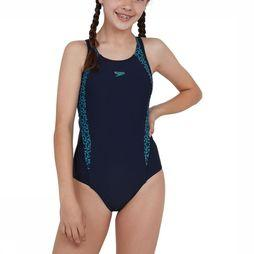 Speedo Bathing Suit Boomstar Splice Flyback dark blue