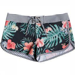 Roxy Short Happy Flower Zwart/Assortiment