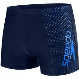 Speedo Slip Gala Logo Panel Aquashort dark blue