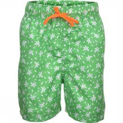 Rumbl Swim Shorts Palm Tree green