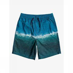 Quiksilver Zwemshort Jetlag Dreams Volley Youth 15 Blauw/Assortiment