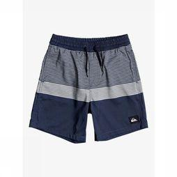 Quiksilver Short De Bain Tijuana Volley Youth 15 Bleu Foncé/Assortiment