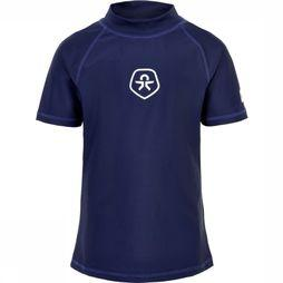 Color Kids Lycra Timon Ss Upf Donkerblauw