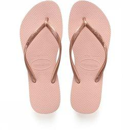 Havaianas Flip Flops Slim light pink/gold