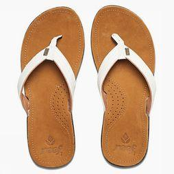 Reef Slipper Miss J-Bay Bruin/Wit