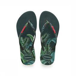 Havaianas Slipper Slim Sensation Middenkaki/Assortiment Bloem