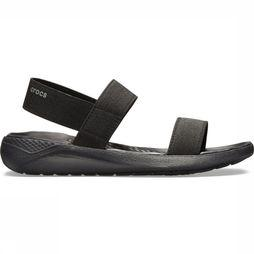 Crocs Tongs Literide Sandal Noir