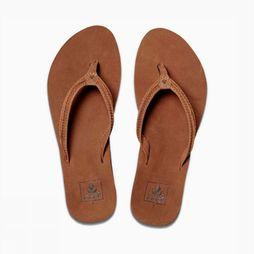 Reef Flip Flop Cushion Bounce Swing dark brown