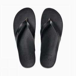 Reef Tongs Cushion Bounce Court Noir