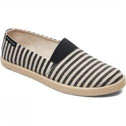 Quiksilver Shoe Espadrilled Black/Ecru