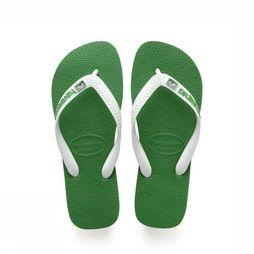 Havaianas Flip Flop Brasil Layers green/white