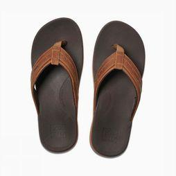 Reef Flip Flop Leather Ortho - Spring brown