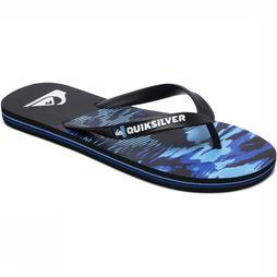 Quiksilver Tongs Molo Nightmarch Noir/Bleu