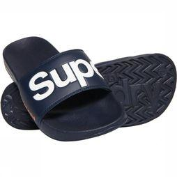 Superdry Tongs Classic Superdry Pool Slide marine