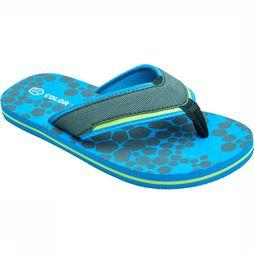 Color Kids Tongs Cok Temple Flip Flops Bleu Clair