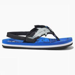 Reef Flip Flop Ahi Shark blue/black