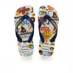 Havaianas Slipper Kids Emoji Movie Wit/Assortiment