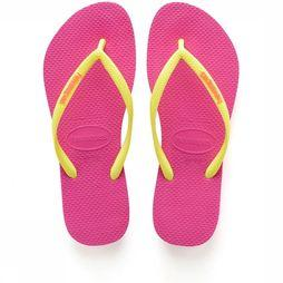 Havaianas Flip Flop Kids Slim Logo Fuchsia/Any Colour