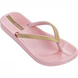 Ipanema Tongs Anatomic Mesh Kids Rose Moyen/Or