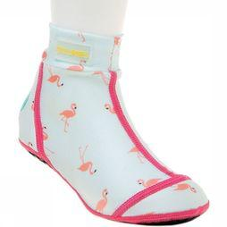 Duukies Beachsocks Schoen Flamingo Mint Lichtgroen