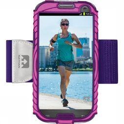 Nathan Armband Smartphone Sonic Boom Samsung GS3 mid pink/mid purple