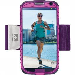 Nathan Armband Smartphone Sonic Boom Samsung GS4 mid pink/mid purple