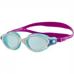 Speedo Swim Glasses Goggles F Fut Biofus Flex Purple/Turquoise