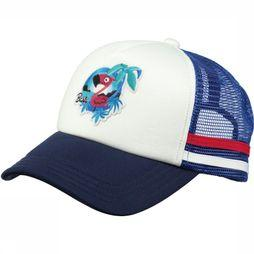 Barts Hoed Club Cap Kids Donkerblauw/Wit