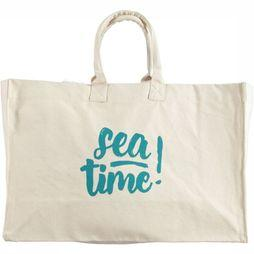 A.S.Adventure Canvas Tas Sea Time Geen kleur