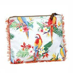Terre Rouge Tas Pochette Perroquet Assortiment