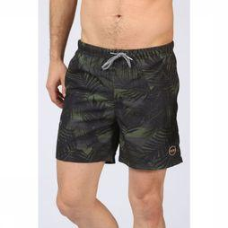 Swim Shorts Graphic Leaf