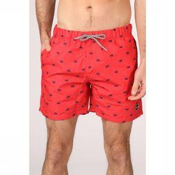 Shiwi Swim Shorts Crabby red/blue