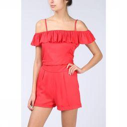 Beach Life Jumpsuit Village red