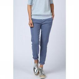 Yaya Trousers Basic mid blue