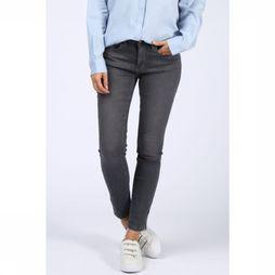 Yaya Jeans Fancy Skinny Denim W Zipper mid grey