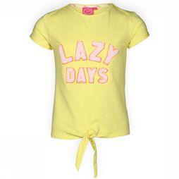 Jubel T-Shirt K/M Lazy Days La Isla Geel