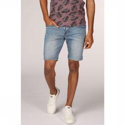 No Excess Short 90-8190410 Middenblauw