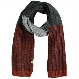 No Excess Scarf 92950905 rust/mid grey