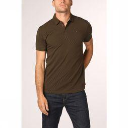 No Excess Polo 92380703 dark khaki/Assortment Geometric